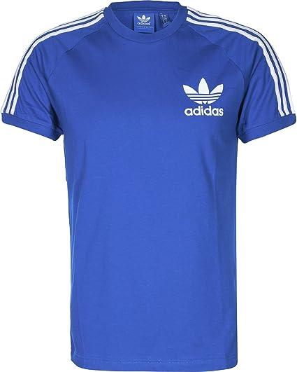Camiseta adidas – California azul/blanco talla: XS (X-Small)