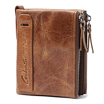 détaillant en ligne 61d6e f9046 VRLEGEND Portefeuilles homme Porte-cartes de crédit Porte ...
