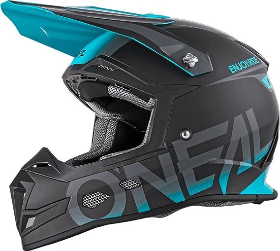 Oneal 5 Series Blocker Motocross Helmet S Red Blue 0618-062