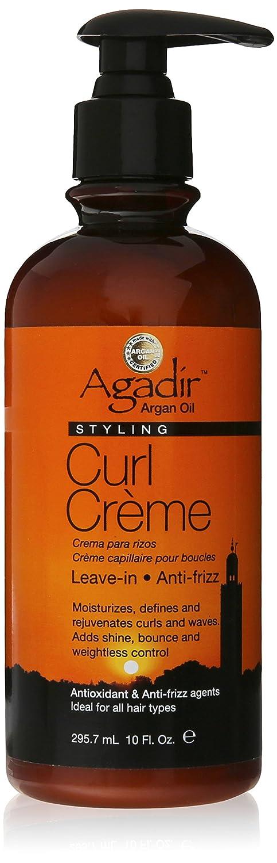 Argan Oil Styling Curl Creme by Agadir for Unisex - 10 oz Cream ACC