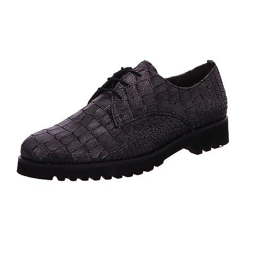 cf7032c4897 Gabor Women's 32.665.67 Lace-Up Flats Black Black: Amazon.co.uk: Shoes &  Bags