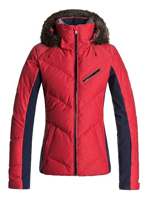 Roxy - Chaqueta para Nieve - Mujer - M - Rojo