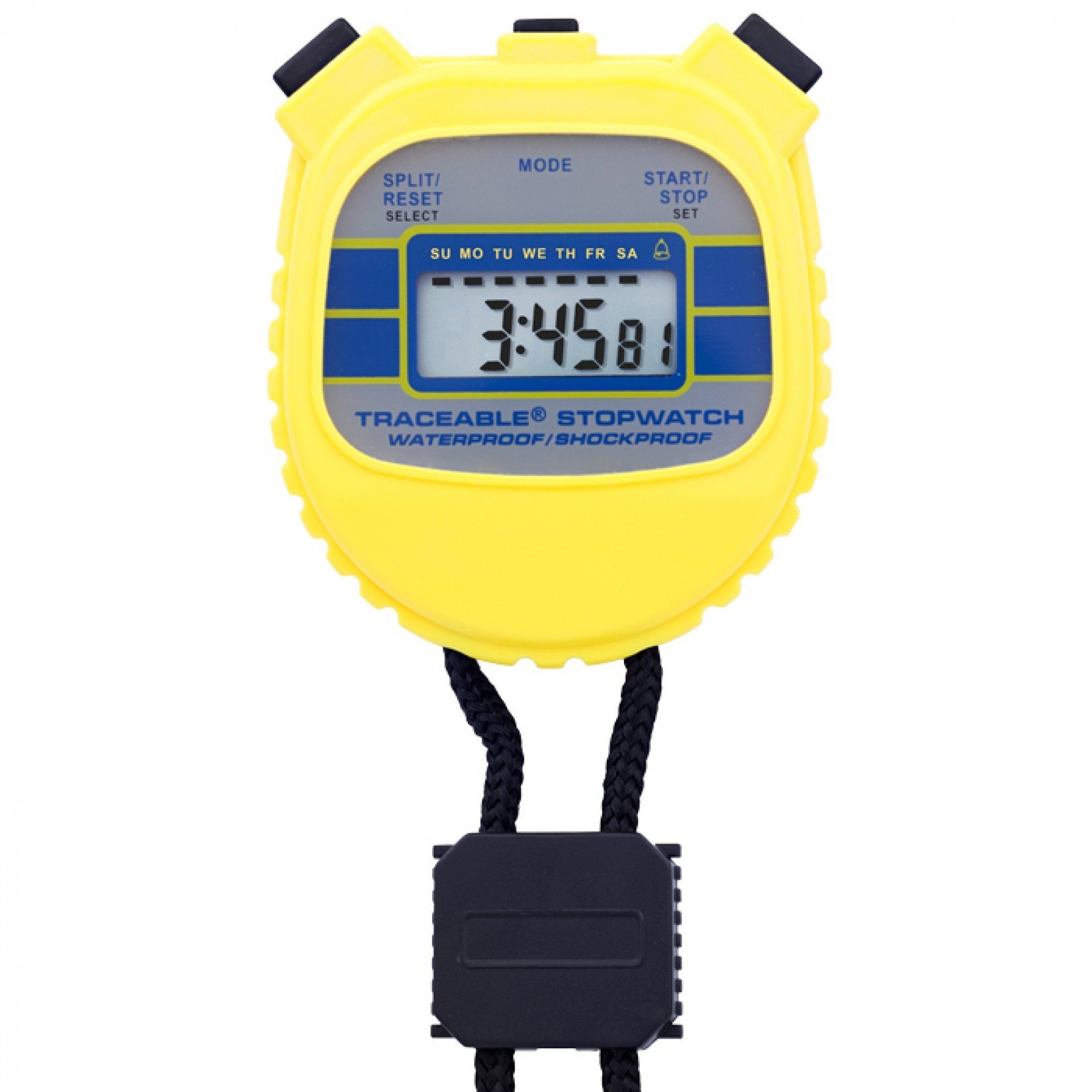 Control Company 1042 Traceable Waterproof/Shockproof Stopwatch by Control