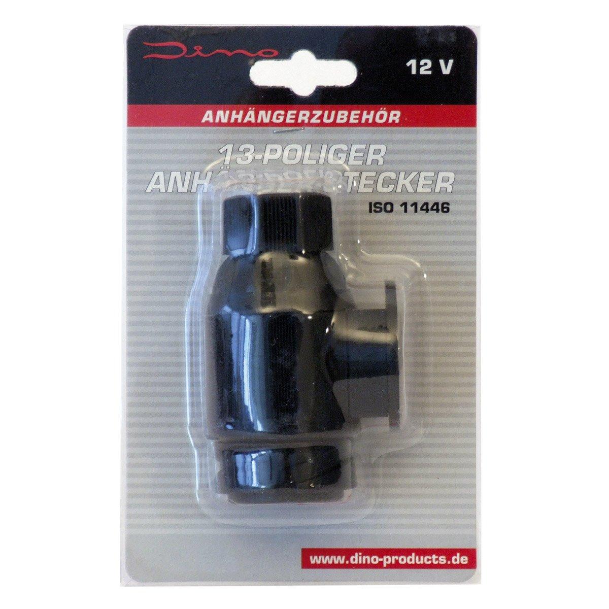 Dino 130079 12V Anhängerstecker 13-Polig ISO 11446: Amazon.de: Auto