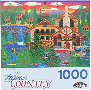 Dozing Bear Lodge by Mark Frost 1000 Piece Puzzle