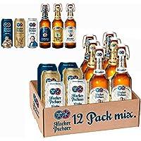 Cerveza Hacker Pschorr MIXr. Caja con 6 botellas y 6 latas de 500ml