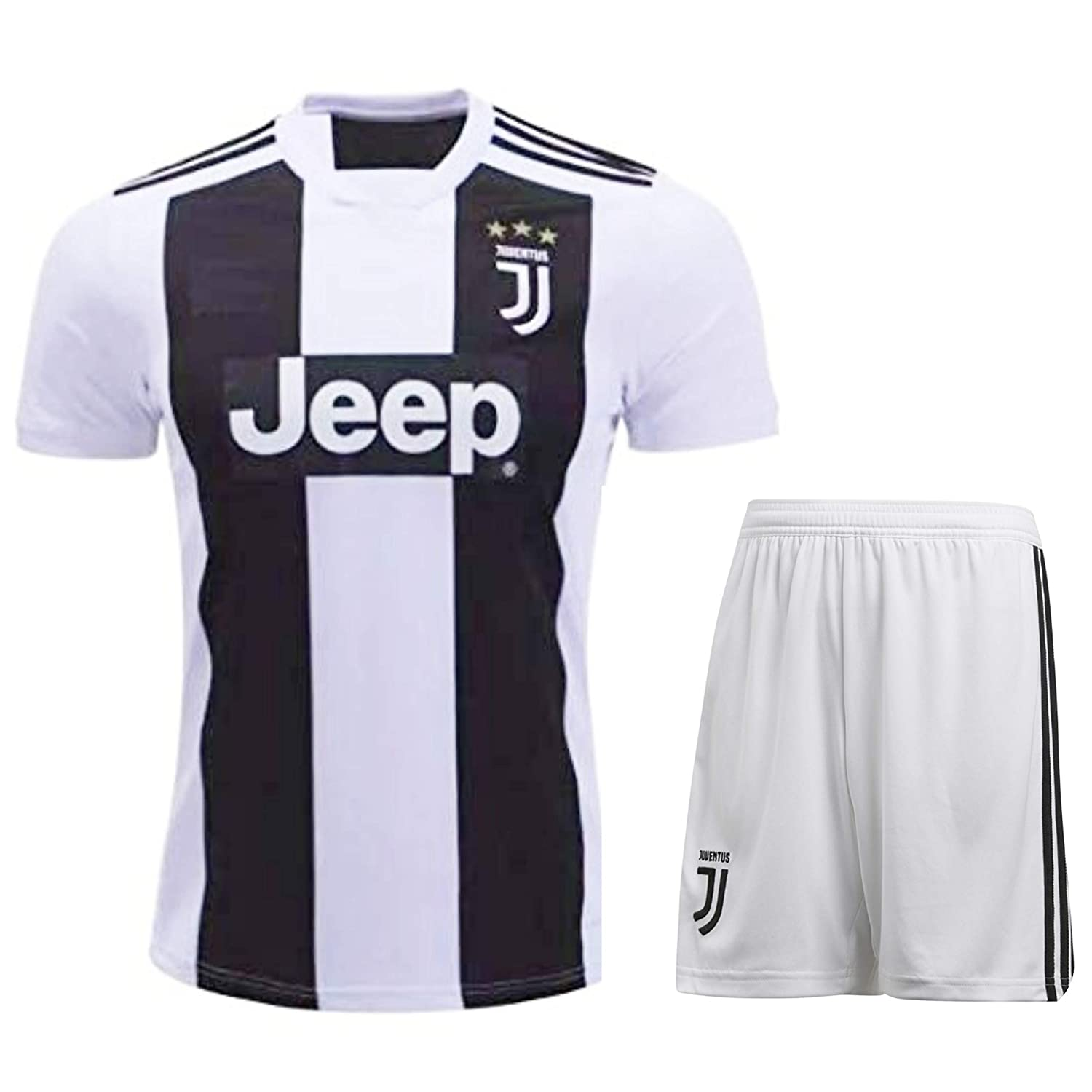 buy online eaca6 404e6 HeadTurners Christiano Ronaldo Juventus Jersey Set (T Shirt and Shorts)  (NonBranded)