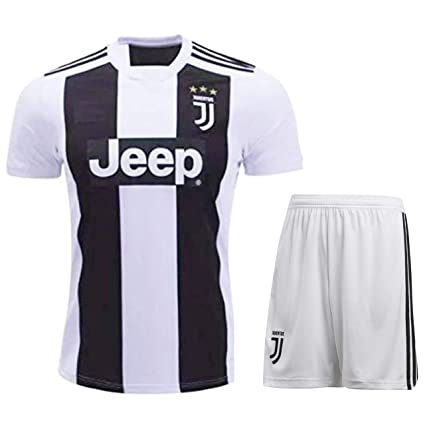 buy online c5fe8 20303 HeadTurners Christiano Ronaldo Juventus Jersey Set (T Shirt and Shorts)  (NonBranded)