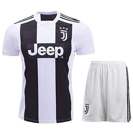 HeadTurners Non Cristiano Ronaldo Juventus Football Jersey Set for Kids 914b969a9