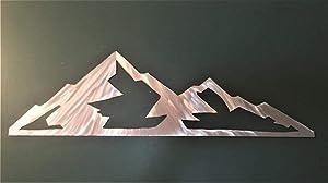 Eldora Mountain Ski Resort Colorado Lodge Cabin Condo Vacation Rental Metal Wall Art Decor