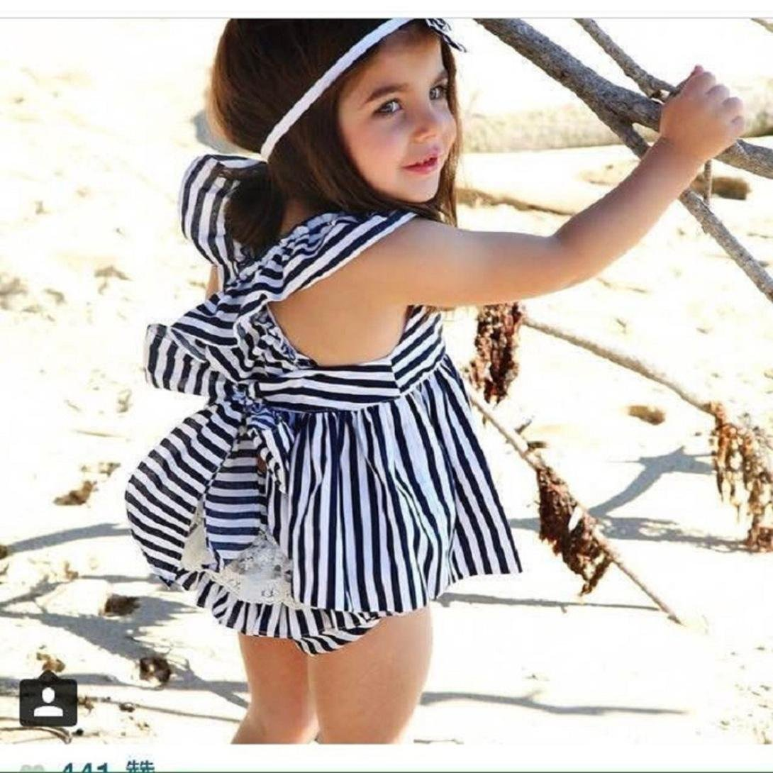 Amazon.com: goodlock bebé ropa de moda set bebé niño las ...