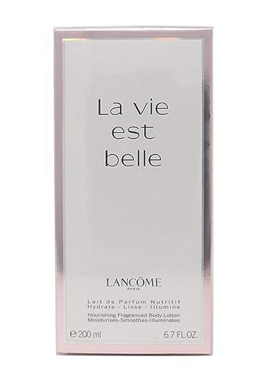 Amazon com: La Vie Est Belle by Lancome Body Lotion 200ml