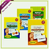 Combo Set 4 (Domestic Animals, Vegetables, Transports, Fruits)