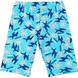 Aivtalk Boys Swim Trunks Stretchy Dry Fast Printed UV Protective Swimming Shorts