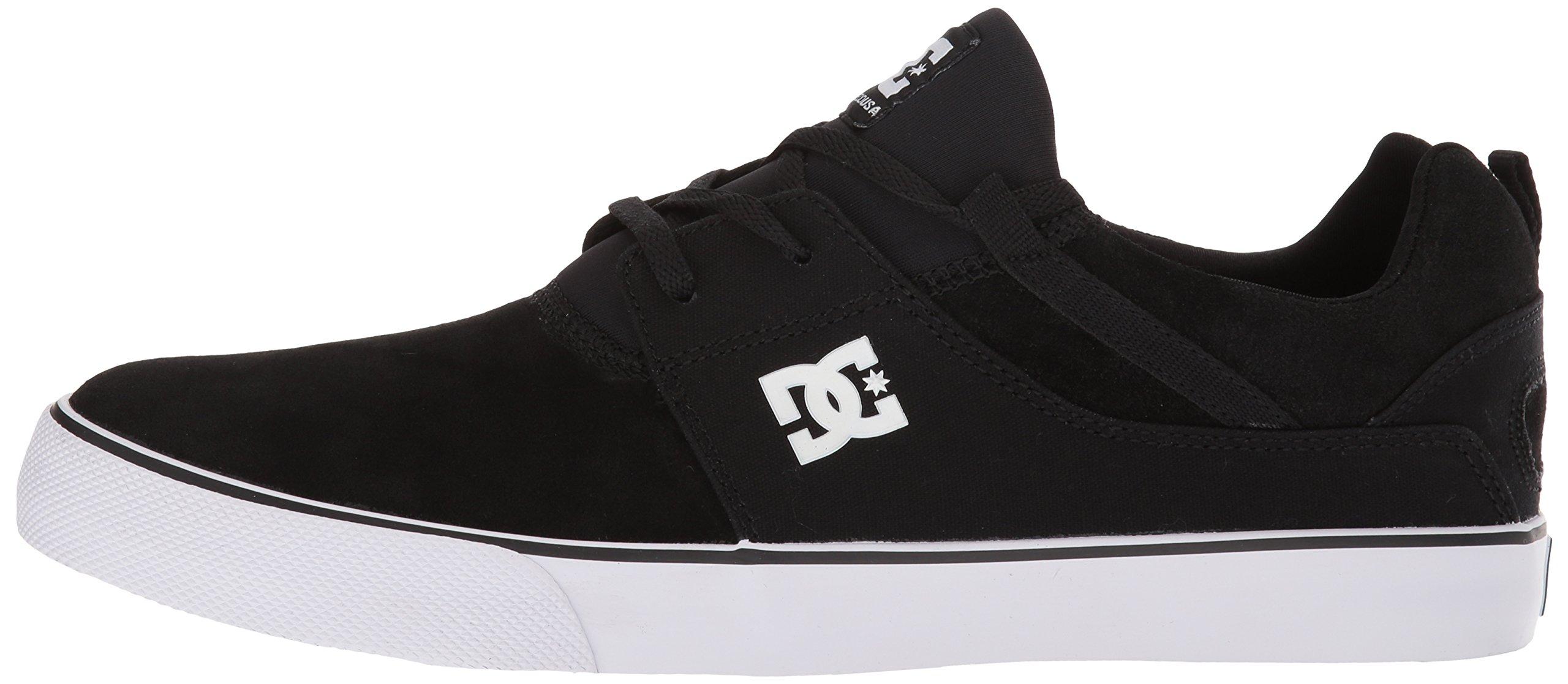 Details about DC Men's Heathrow Vulc Skate Shoe, BlackWhite, 6 Choose SZcolor