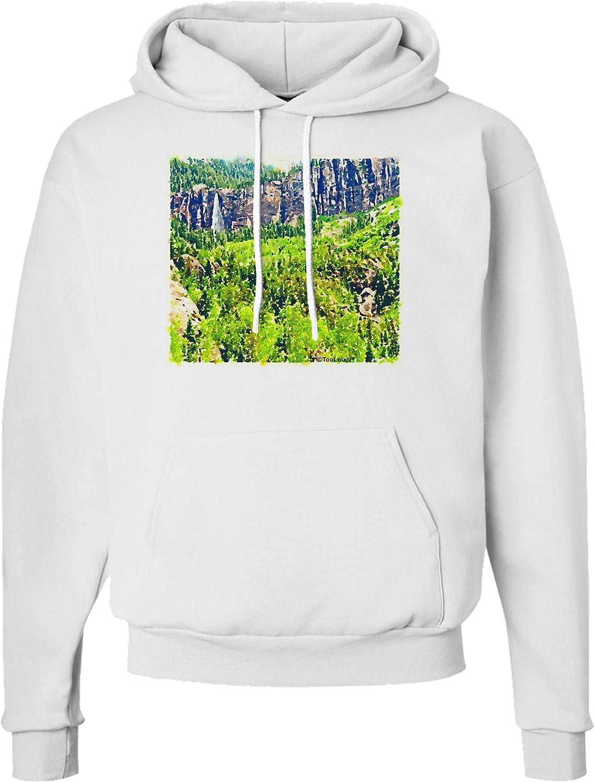 TooLoud Colorado Tree Watercolor Sweatshirt