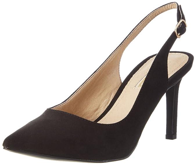 Buffalo Shoes H733C117 S0003A Imi Suede Scarpe col Tacco con Cinturino a
