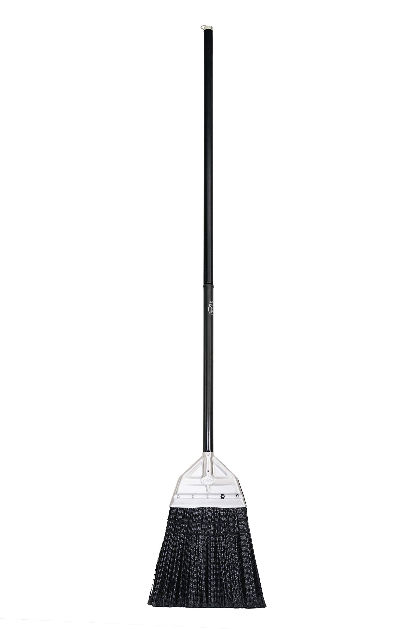 Fuller Brush Broom - Premium Grade Heavy Duty Straight Surface Sweeper w/ Chemical & Grease Proof Bristles For Sweeping All Floor Types Indoor & Outdoor