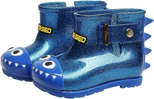 Childrens Kids Boys Girls Blue Pink School Wellies//Wellington Rain Snow Boots