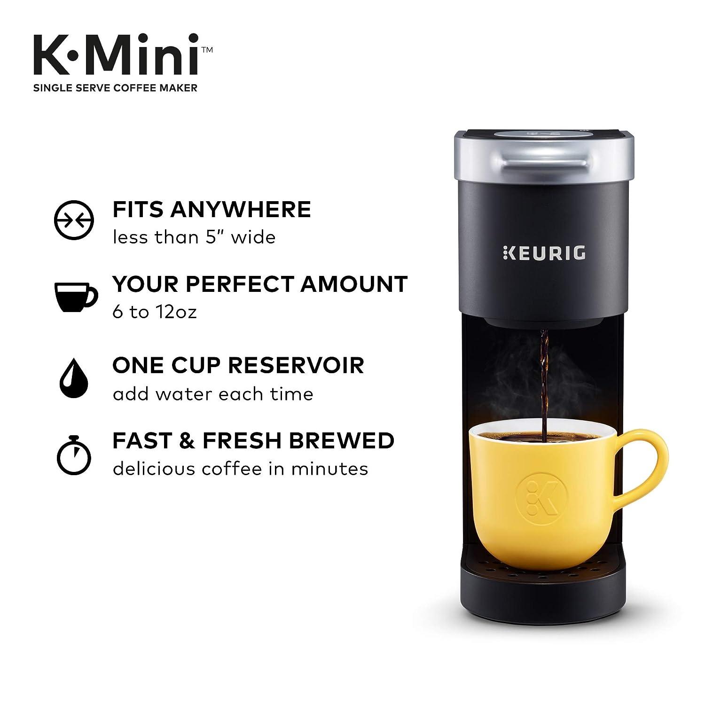 Keurig K-Mini Coffee Maker, Single Serve K-Cup Pod Coffee ...
