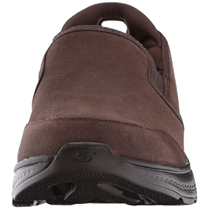 Skechers Performance Men's Go 4-54173 Walking Shoe, Chocolate, 13 M US