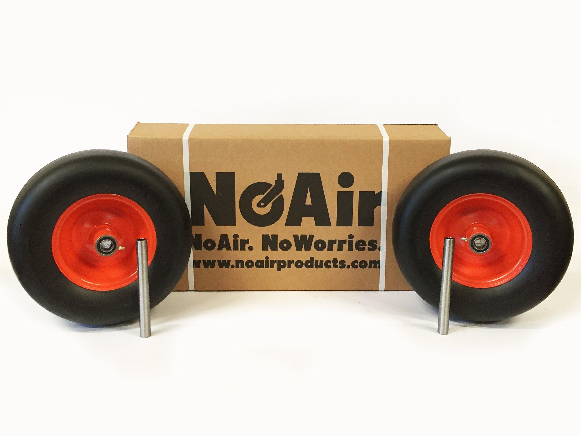 (2) Bad Boy Flat Free Tire Assemblies 13x6.50-6 Fits ZT Elite 48'' 52'' 60'' Replaces 022-2006-000