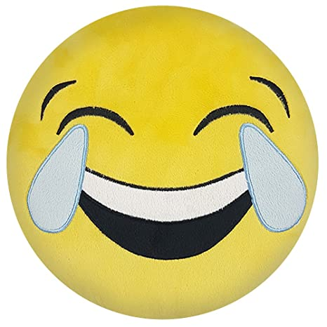 Emoji Cojín 30 cm Emoticon - Cojín decorativo (Smiley con ...