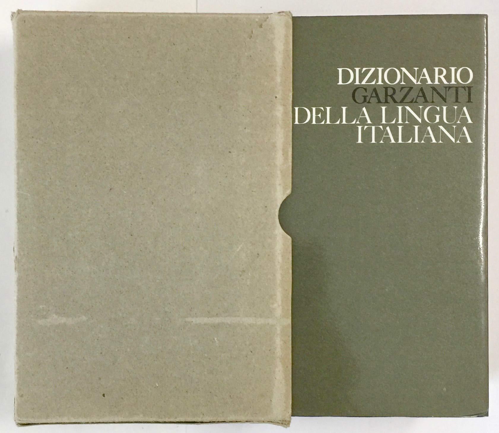 Amazon.com: Dizionario Garzanti Della Lingua Italiana: Books