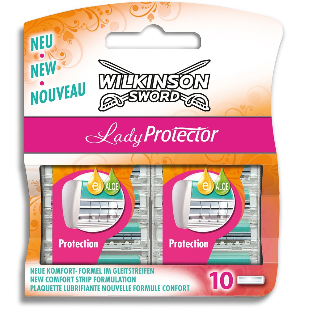 Wilkinson Sword 5 individual blades for use of Lady Protector Razor 2050631