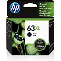 HP 63XL | Ink Cartridge | Black | F6U64AN photo