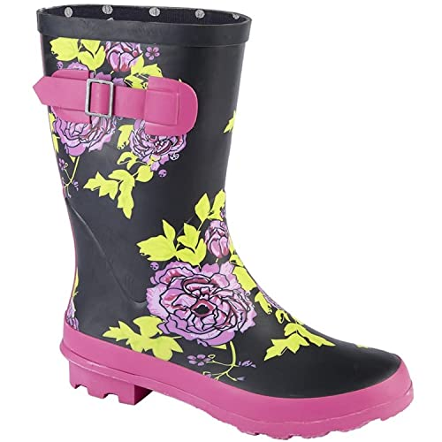 san francisco 206b0 854d9 Woodland Damen Gummistiefel, halbhoch: Amazon.de: Schuhe ...