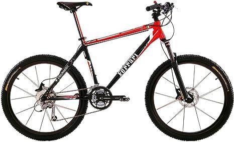 FERRARI CX50-M - Bicicleta de montaña Enduro, Color Rojo: Amazon ...