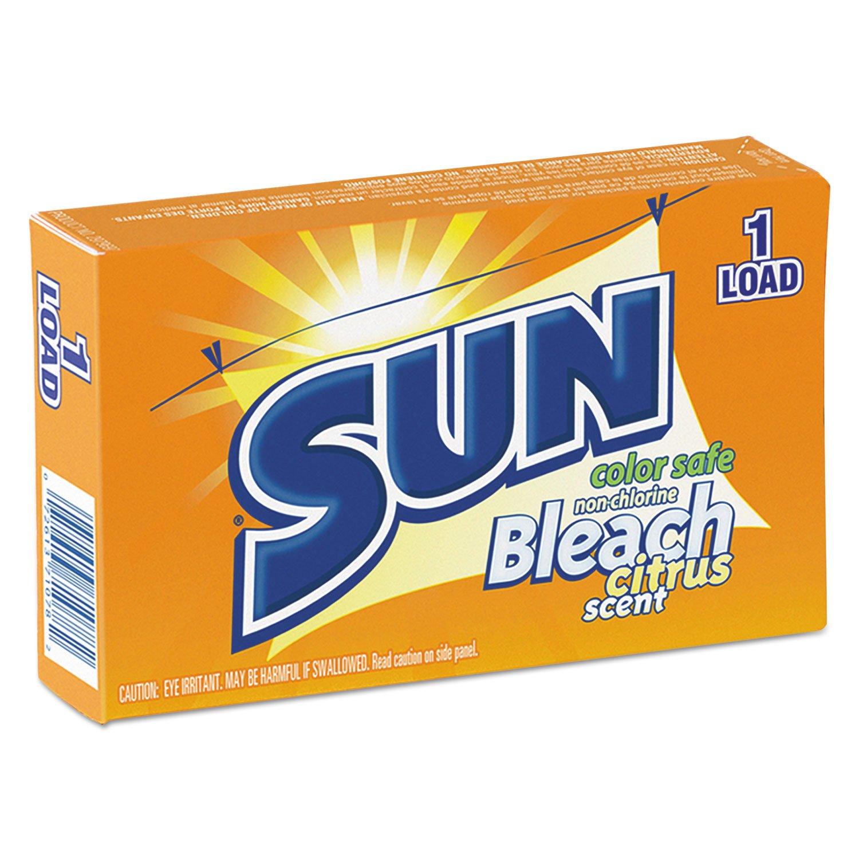 Sun Products VEN2979697 Color Safe Powder Bleach, Vend Pack, 1 Load Box, 100/carton