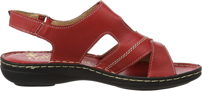 Rieker Damen V9173 Geschlossene Sandalen: : Schuhe ZfH26