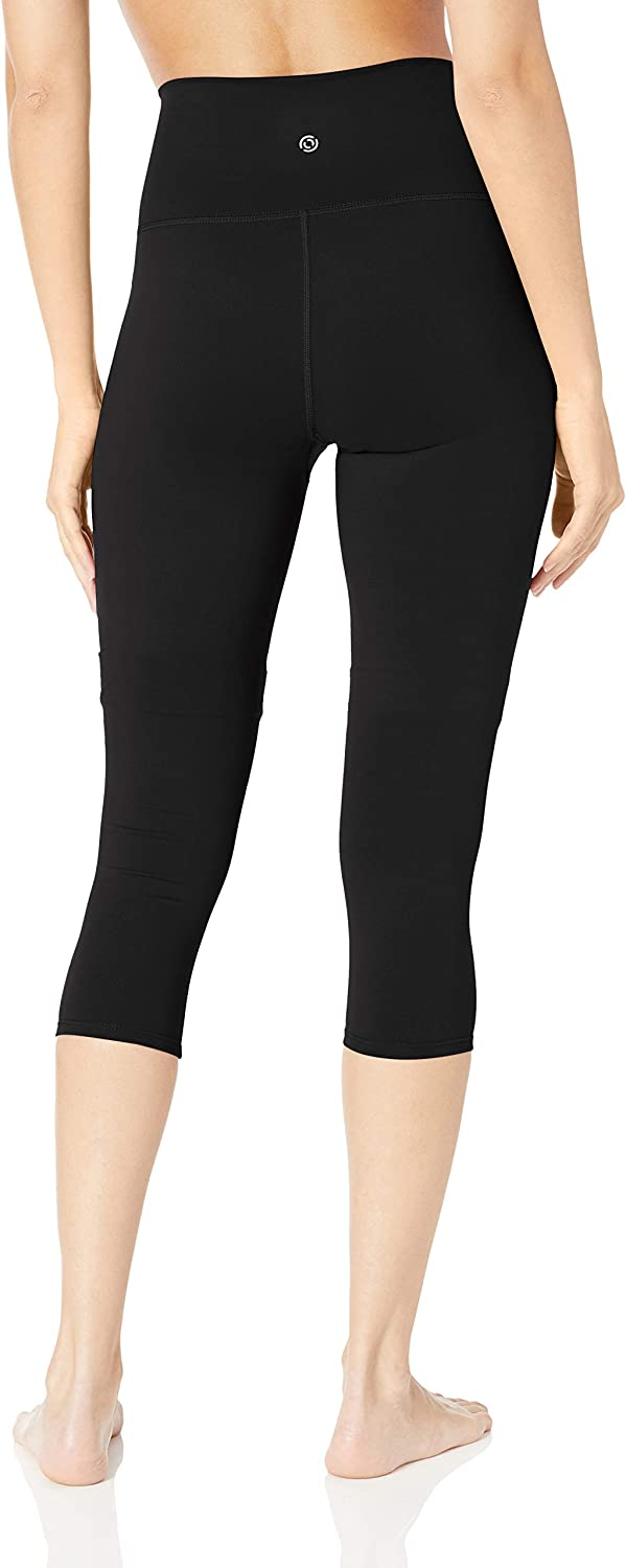 CoreComfort High Waist Yoga Capri Legging Brand 22 XS-3X Core 10 Womens