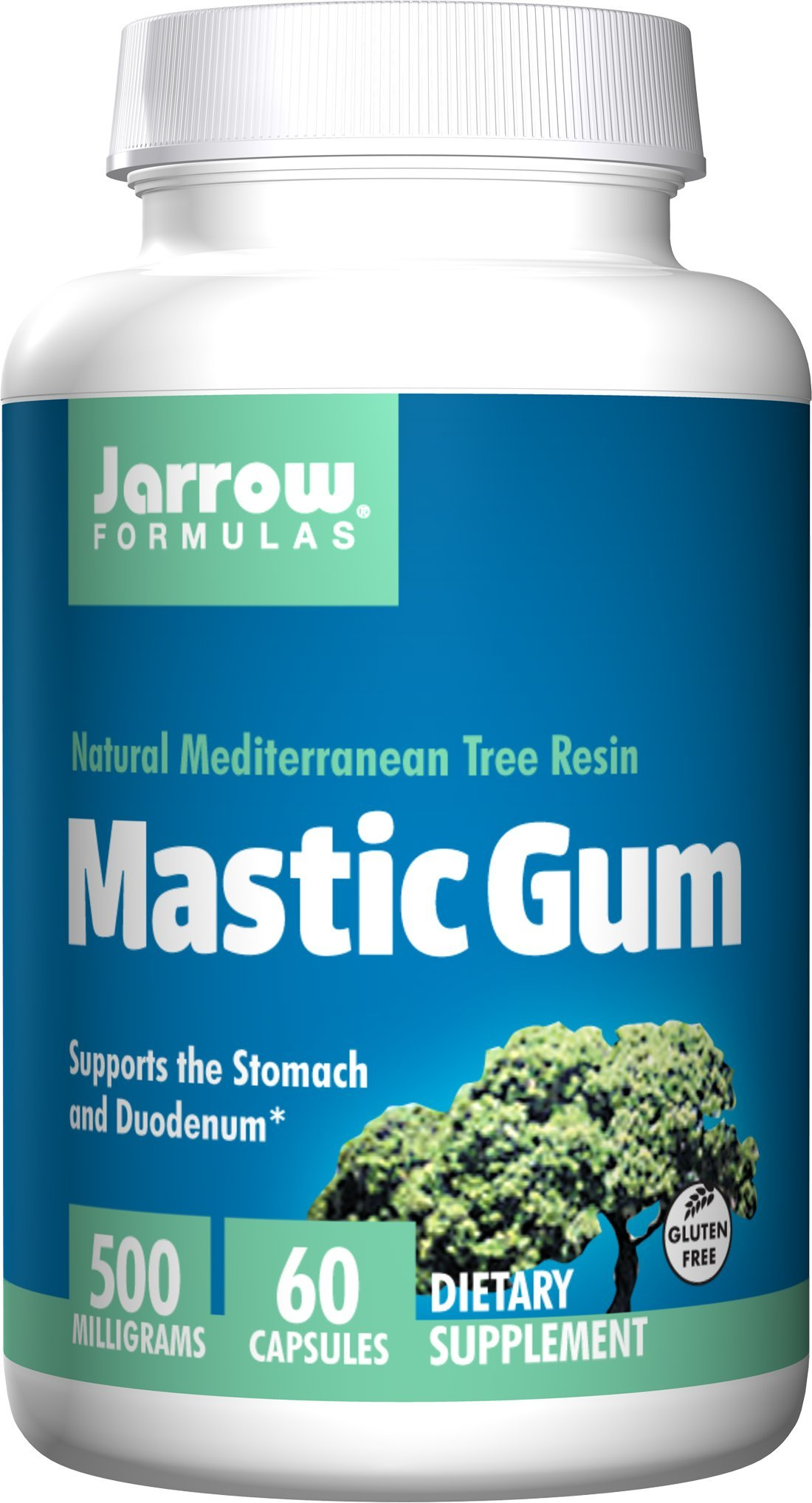 Jarrow Formulas - Mastic Gum 500 mg 60 caps (Pack of 2)