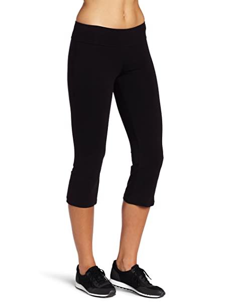db1be02d57b Spalding Women s Capri Flare at Amazon Women s Clothing store  Athletic  Pants