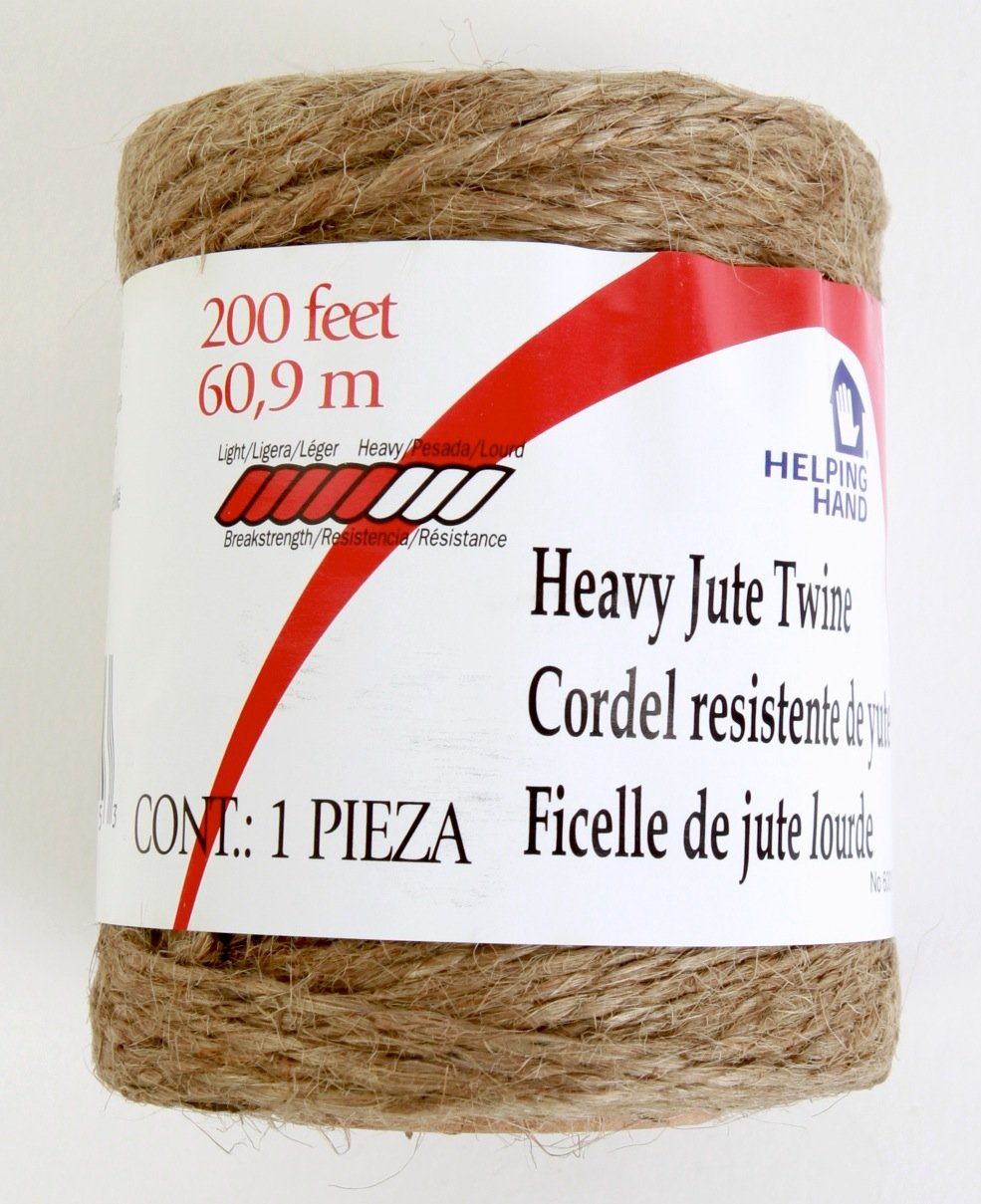 200 Helping Hand 156452 Twine Jute Heavy 3 Ply