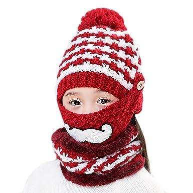 Stillshine Mama Und Babys Winter Warme Häkeln Hut Wolle Futter Schal