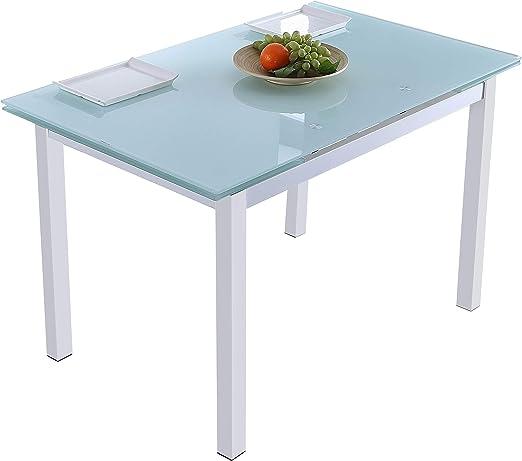 Adec - Milan, Mesa de Comedor salón o Cocina Extensible, Mesa ...