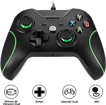 Xbox One Mando, Gamepad, Controlador de Gamepad, ICOCO Xbox one Controlador común para Windows XP/7/8/10,Android (TV box / smartphone / tablet) (Xbox one): Amazon.es: Electrónica