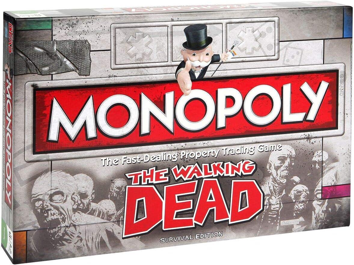 The Walking Dead Monopoly Juego de Mesa Standard: Amazon.es: Juguetes y juegos