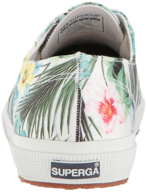 Superga Women's 2750 Rasotropicalw Sneaker B073ZMV81T 41 M EU (9.5 US)|Floral Multi