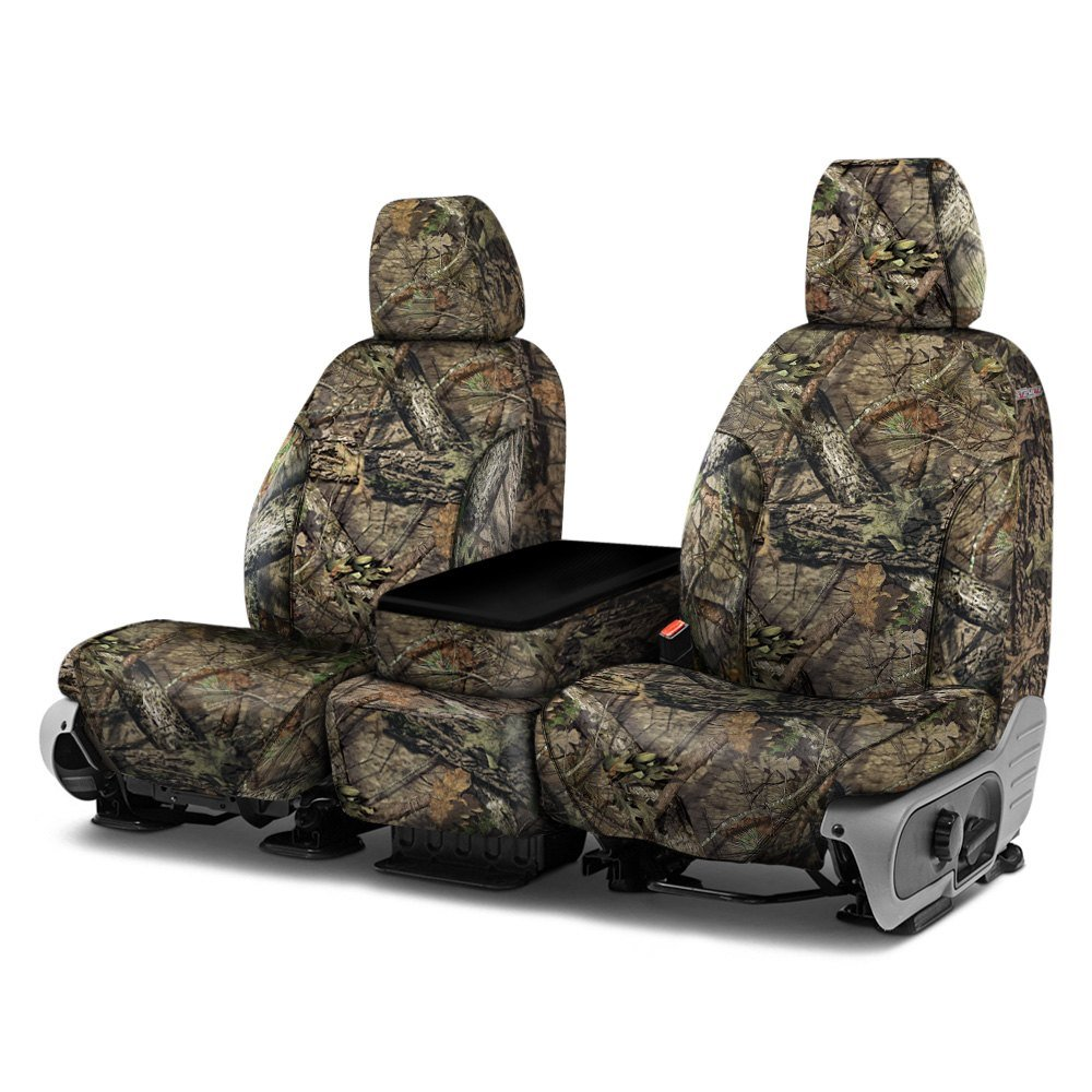 Break-Up Country Covercraft Carhartt Mossy Oak Camo SeatSaver Front Row Custom Fit Seat Cover for Select Toyota 4Runner Models Duck Weave SSC2347CAMB