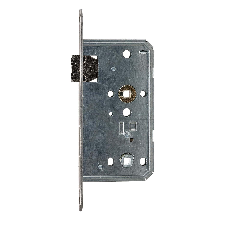 BMH Cerradura WC//ba/ño Clase 3/  para objetos   65//78//8/  Acero Inoxidable Perfil * fabricado en Alemania *