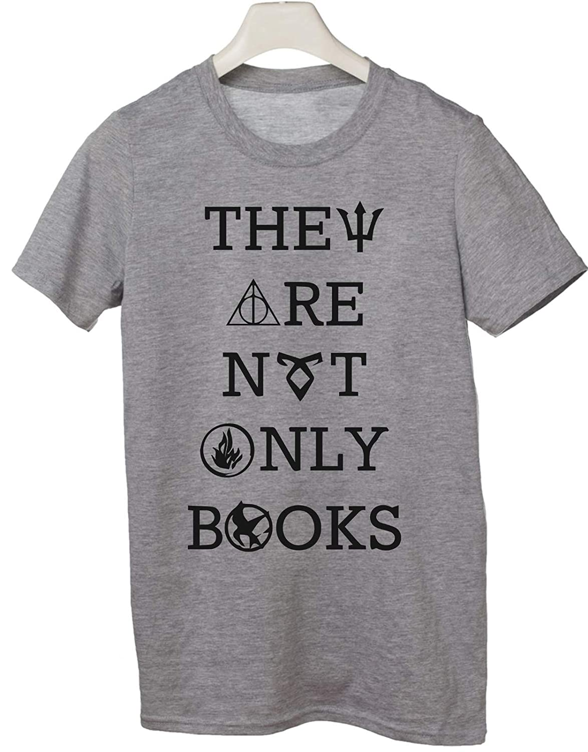 magia Tshirt Harry Potter They Are Not Only Books Wizard Hogwarts Humor
