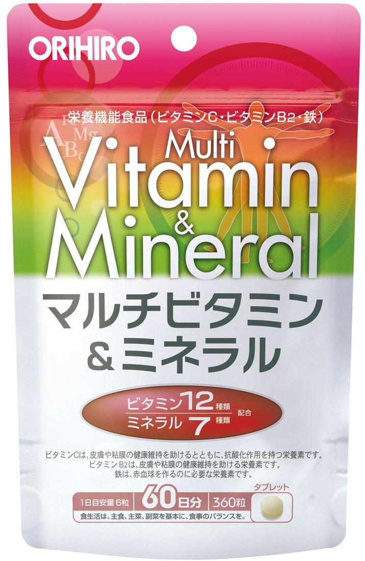 オリヒロ PD マルチビタミン&ミネラル B002K99TNI