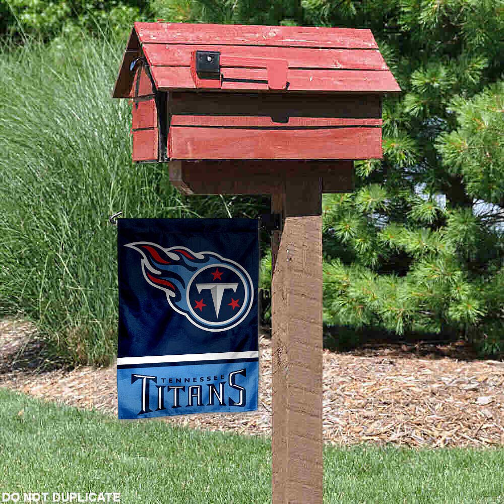 WinCraft Tennessee Titans Double Sided Garden Flag