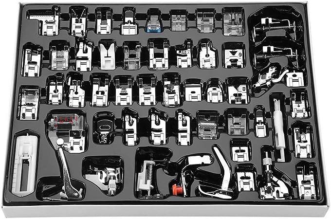 Kit de pies de prensatelas, Profesional 52 Piezas de pies de ...