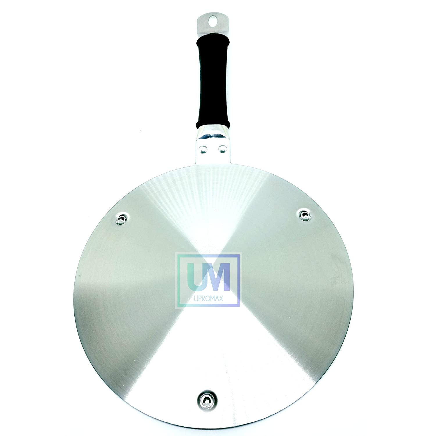 """Upromax Induction Embossed 11"""" Cooktop Converter Disk Stainless Steel Plate Cookware"""